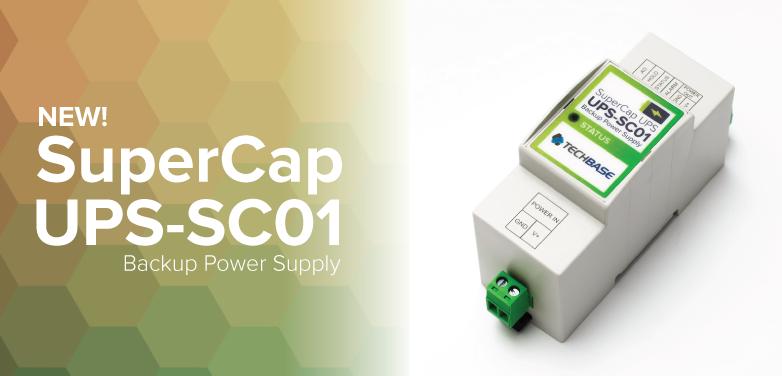 SuperCap UPS - Backup power supply for Raspberry Pi / ESP32
