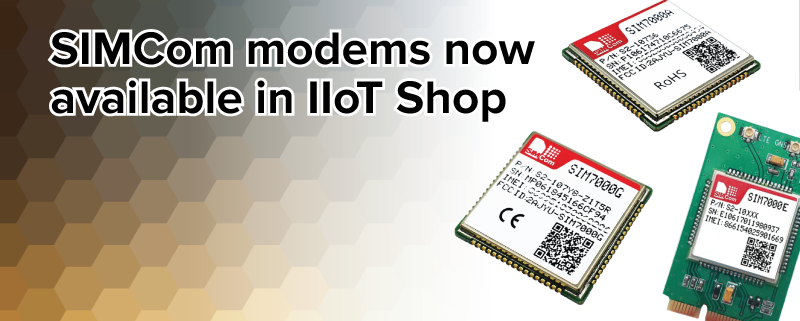 SIMCom NB-IoT modems now available in Industrial IoT Shop - ModBerry